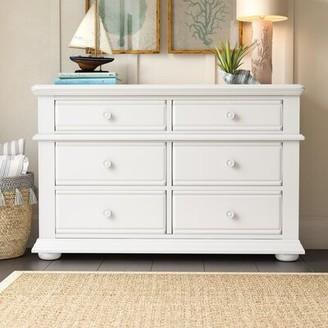 Beachcrest Home Dickens 6 Drawer Double Dresser