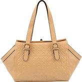 Mellow World Women's Hannah Geometric Embossed Shoulder Bag