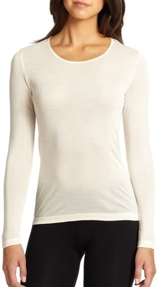 Hanro Silk Long-Sleeve Top