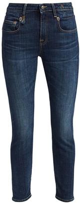 R 13 Mid-Rise Boyfriend Skinny Jeans