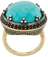 Iosselliani Elegua turquoise ring