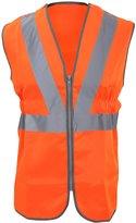 Yoko Mens Hi-Vis Premier Railway Waistcoat / Jacket (XL)