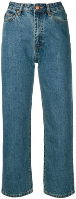 Han Kjobenhavn Cropped Straight Leg Jeans
