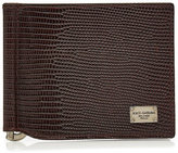 Dolce & Gabbana Embossed Leather Wallet