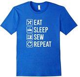 Sewing Eat Sleep Repeat T-Shirt
