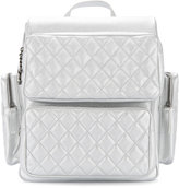 Chanel Vintage Quilted CC Backpack