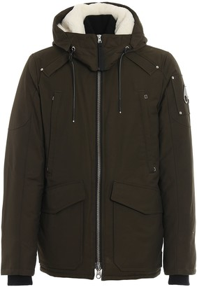 Moose Knuckles Millstream Detachable Hood Padded Jacket