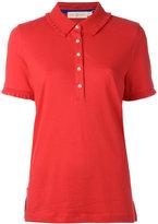 Tory Burch polo shirt - women - Cotton/Spandex/Elastane/Modal - XL