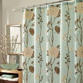 Cassandra M. Style 70-Inch x 72-Inch Fabric Shower Curtain in Blue