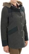 Carve Designs Crescent Cargo Jacket - Wool Blend (For Women)