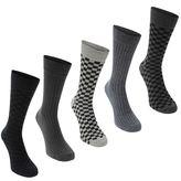 Soviet Checker Socks
