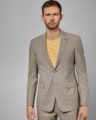 Ted Baker TONEJ Debonair slim fit linen blend jacket