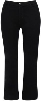 Evans Curve Black Straight Leg Jeans