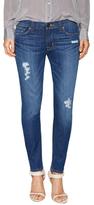 Hudson Krista Crop Destructed Skinny Jean