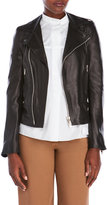 Ter Et Bantine Asymmetrical Leather Jacket