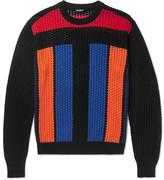 Balmain Crocheted Cotton Sweater