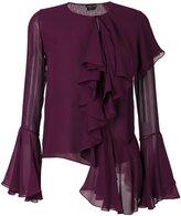 Tom Ford ruffle blouse - women - Silk - 36