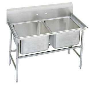 """Advance Tabco 940 Series 52"""" x 35"""" Free Standing Service Sink Advance Tabco"""