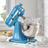 Crate & Barrel KitchenAid ® Artisan Crystal Blue Stand Mixer