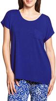 Laura Ashley Brisk Blue Drop Shoulder Hi-Low Top