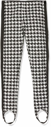 MEK Girl's Pantalone Con Staffa Punto Milano Fantasia Trouser