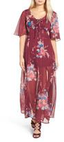 Band of Gypsies Floral Print Maxi Dress