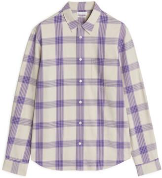 Arket Shirt 13 Poplin Check