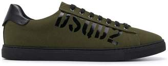 DSQUARED2 low top trainers