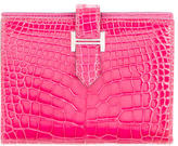 Hermes Mini Alligator Compact Bearn Wallet