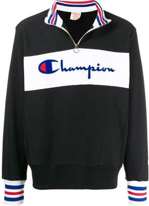 Champion logo print pull-on jumper