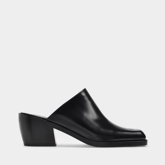 Nodaleto Star Bulla Mules In Black Leather