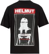 Helmut Lang Logo-print cotton-jersey T-shirt