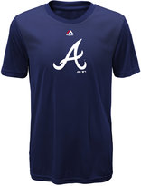 Majestic Kids' Atlanta Braves Geo Strike T-Shirt