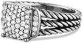 David Yurman Petite Wheaton Ring with Diamonds