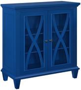 Design Studio A Opalcrest Double Door Accent Cabinet, Blue