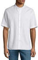 Rag & Bone Richmond Short-Sleeve Shirt, White