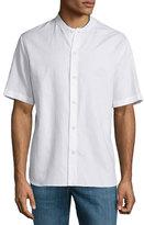 Rag & Bone Richmond Short-Sleeve Shirt, White