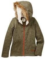 Billabong Good Day Faux Fur Trim Hoodie (Little Girls & Big Girls)