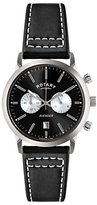 Rotary Avenger Sport Chronograph Leather Strap Watch
