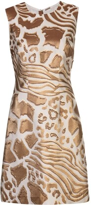 Adam Lippes Jacquard Print Dress