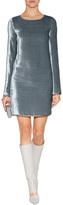 Missoni Velvet Backless Dress in Silver Grey