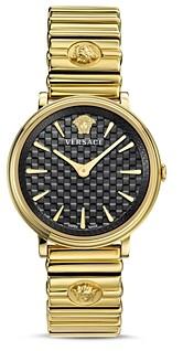 Versace V-Circle Logomania Edition Watch, 38mm