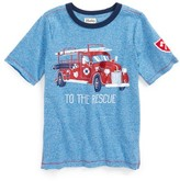 Hatley Boy's To The Rescue Fire Truck T-Shirt