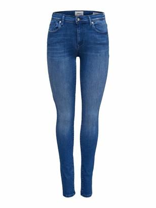 Only Women's onlSHAPE REG SK DNM JNS BB REA3350 NOOS Skinny Jeans