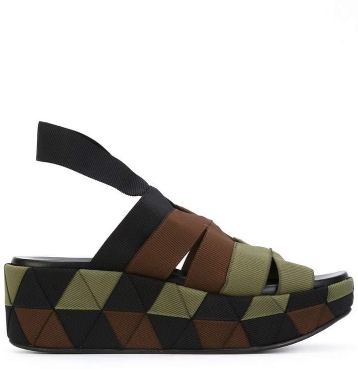 Salvatore Ferragamo wedge sandals