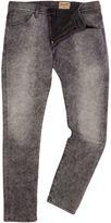 Wrangler Bryson Starlight Black Skinny Fit Jeans