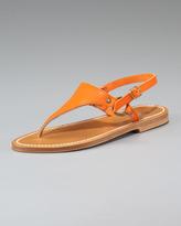 K. Jacques Slingback Flat Thong Sandal