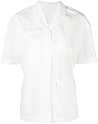 REMAIN Short-Sleeved Button-Up Shirt