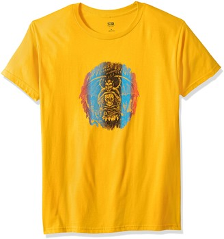 Obey Men's Welcome to Hell Short Sleeve Lightweight Tshirt