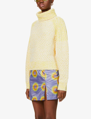 Kenzo Turtleneck wool-blend jumper